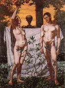 Hans Thoma Adam and Eve china oil painting reproduction